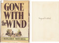 Movie/TV Memorabilia:Autographs and Signed Items, Gone With the Wind First Edition Signed by MargaretMitchell....