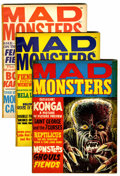 Magazines:Horror, Mad Monsters Group (Charlton, 1961-64).... (Total: 9 Comic Books)