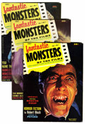 Magazines:Horror, Fantastic Monsters of the Films #1-7 Group (Black Shield Publications, 1962-63).... (Total: 6 Comic Books)