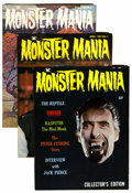Magazines:Horror, Monster Mania #1-3 Group (Renaissance Productions, 1966-67) Condition: Average NM-.... (Total: 3 Comic Books)