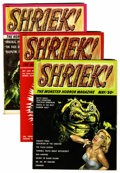 Magazines:Horror, Shriek! #1-4 Group (House of Horror, 1965-66) Condition: Average NM-.... (Total: 4 Comic Books)