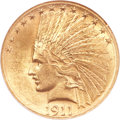 Indian Eagles, 1911-S $10 MS61 NGC....