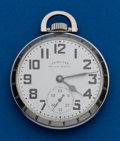 Timepieces:Pocket (post 1900), Hamilton, 992B. ...