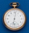 Timepieces:Pocket (post 1900), Waltham, 21 Jewels, Grade 645. ...