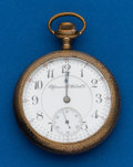 Timepieces:Pocket (post 1900), Rockford, Plymouth Watch Co, 21 Jewels, Prince of Wales. ...