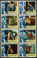 """Movie Posters:Science Fiction, The Last Man on Earth (American International, 1964). InternationalLobby Card Set of 8 (11"""" X 14"""") and Pressbook (10.75"""" X ... (Total:9 Items)"""