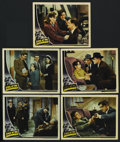 """Movie Posters:Crime, Eyes of the Underworld (Universal, 1943). Lobby Cards (5) (11"""" X14""""). Crime. ... (Total: 5 Items)"""