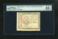 Colonial Notes:Continental Congress Issues, Continental Currency January 14, 1779 $50 PMG Choice Extremely Fine45 EPQ. The $50 denomination was produced only for the f...