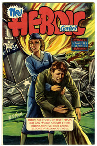 Heroic Comics #68 Mile High pedigree (Eastern Color, 1951) Condition: NM