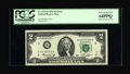 Error Notes:Mismatched Prefix Letters, Fr. 1935-B $2 1976 Federal Reserve Note. PCGS Very Choice New64PPQ....