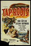 """Tap Roots (Universal, R-1956). One Sheet (27"""" X 41""""). Drama"""