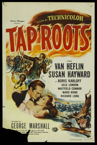 "Tap Roots (Universal, R-1956). One Sheet (27"" X 41""). Drama"