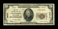 National Bank Notes:Pennsylvania, Goldsboro, PA - $20 1929 Ty. 1 The First NB Ch. # 9072. ...