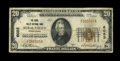 National Bank Notes:Pennsylvania, Rural Valley, PA - $20 1929 Ty. 1 The Rural Valley NB Ch. # 6083....