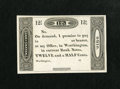 Obsoletes By State:Ohio, Worthington, OH- (Ezra Griswold) 12 1/2¢ 18__. . ...
