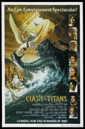 "Movie Posters:Fantasy, Clash of the Titans (MGM, 1981). One Sheet (27"" X 41"") AdvanceStyle A. Fantasy. ..."