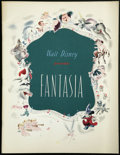 """Movie Posters:Animated, Fantasia (RKO, 1940). Program (9.75"""" X 12.5"""", Mutiple Pages). Animated. ..."""