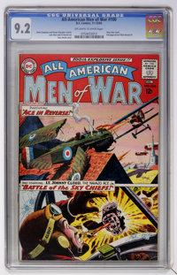 All-American Men of War #100 (DC, 1963) CGC NM- 9.2 Off-white to white pages