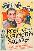 "Movie Posters:Musical, Rose of Washington Square (20th Century Fox, 1939). One Sheet (27"" X 41""). .. ..."