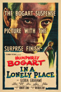 "Movie Posters:Film Noir, In a Lonely Place (Columbia, 1950). One Sheet (27"" X 41"").. ..."