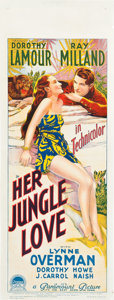 "Movie Posters:Adventure, Her Jungle Love (Paramount, 1938). Pre-War Australian Daybill (15""X 40"").. ..."