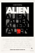 "Movie Posters:Science Fiction, Alien (20th Century Fox, 1979). One Sheet (27"" X 41"") Advance.. ..."