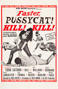 "Movie Posters:Adult, Faster, Pussycat! Kill! Kill! (Eve Productions, 1965). One Sheet(27"" X 41"") Style A.. ..."