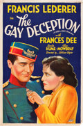 "Movie Posters:Comedy, The Gay Deception (Fox, 1935). One Sheet (27"" X 41"").. ..."