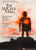 "Movie Posters:Horror, The Wicker Man (Lion International, 1973). British One Sheet (27"" X40"").. ..."