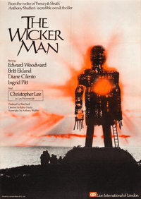 "The Wicker Man (Lion International, 1973). British One Sheet (27"" X 40"")"