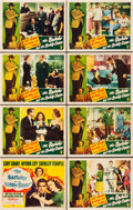 "Movie Posters:Comedy, The Bachelor and the Bobby Soxer (RKO, 1947). Lobby Card Set of 8 (11"" X 14"").. ... (Total: 8 Items)"