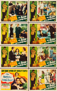 "The Bachelor and the Bobby Soxer (RKO, 1947). Lobby Card Set of 8 (11"" X 14""). ... (Total: 8 Items)"