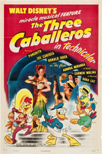 "The Three Caballeros (RKO, 1945). One Sheet (27"" X 41"")"
