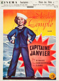 "Movie Posters:Drama, Captain January (20th Century Fox, 1936). Pre-War Belgian (24"" X 33"").. ..."