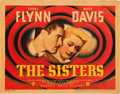 "Movie Posters:Drama, The Sisters (Warner Brothers, 1938). Linen Finish Title Lobby Card(11"" X 14""). Drama.. ..."