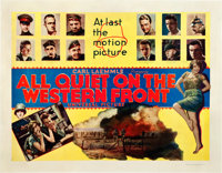 "All Quiet on the Western Front (Universal, 1930). Half Sheet (22"" X 28"") Style B"