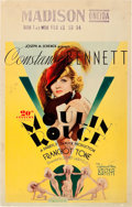 """Movie Posters:Comedy, Moulin Rouge (United Artists, 1934). Window Card (14"""" X 22"""").. ..."""