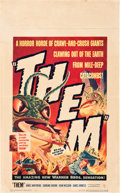"""Movie Posters:Science Fiction, Them! (Warner Brothers, 1954). Window Card (14"""" X 22"""").. ..."""
