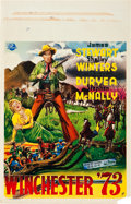 "Movie Posters:Western, Winchester '73 (Universal International, 1950). Belgian (14"" X 21.5"").. ..."