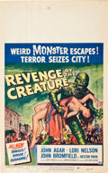 """Movie Posters:Horror, Revenge of the Creature/The Creature Walks Among Us Lot (UniversalInternational, 1955-1956). Window Cards (2) (14"""" X 22"""").... (Total:2 Items)"""
