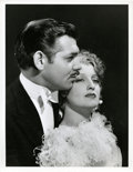 "Movie Posters:Romance, Clark Gable and Jeanette MacDonald in ""San Francisco"" by ClarenceSinclair Bull (MGM, 1936). Portrait Photo (10"" X 13"").. ..."