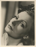 "Movie Posters:Romance, Greta Garbo in ""The Painted Veil"" by Clarence Sinclair Bull (MGM,1934). Portrait Photo (10"" X 13"").. ..."