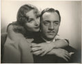 "Movie Posters:Comedy, Carole Lombard and William Powell in ""My Man Godfrey"" by WilliamWalling Jr. (Universal, 1936). Portrait Photo (10.5"" X 13.5..."