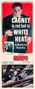 "Movie Posters:Film Noir, White Heat (Warner Brothers, 1949). Insert (14"" X 36"").. ..."