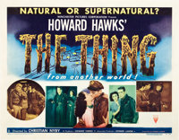 "The Thing From Another World (RKO, 1951). Half Sheet (22"" X 28"") Style A"