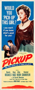 "Movie Posters:Bad Girl, Pickup (Columbia, 1951). Insert (14"" X 36"").. ..."