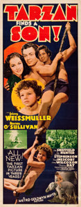 "Movie Posters:Adventure, Tarzan Finds a Son (MGM, 1939). Insert (14"" X 36"").. ..."