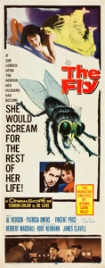 "Movie Posters:Horror, The Fly (20th Century Fox, 1958). Insert (14"" X 36"").. ..."
