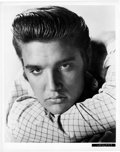 "Movie Posters:Elvis Presley, Elvis Presley in ""Love Me Tender"" (20th Century Fox, 1956).Portrait Photos (2) (8"" X 10"").. ... (Total: 2 Items)"