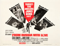 """From Russia with Love (United Artists, 1964). Half Sheet (22"""" X 28"""")"""